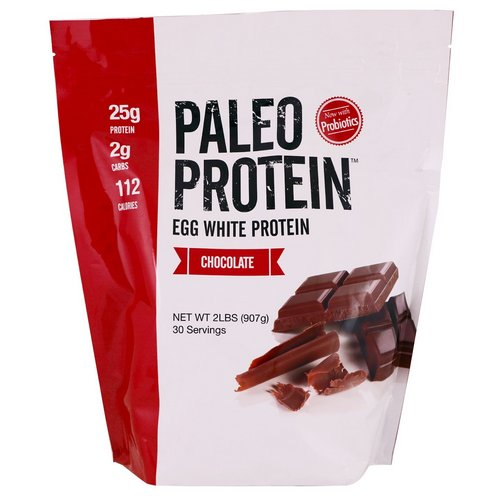 Julian Bakery, Paleo Protein, Egg White Protein, Chocolate, 2 lbs (907 g) Review