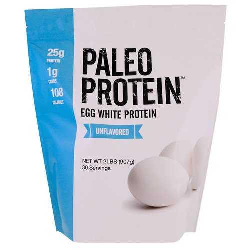Julian Bakery, Paleo Protein, Egg White Protein, Unflavored, 2 lbs (907 g) Review