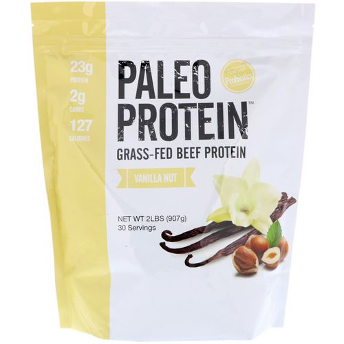 Julian Bakery, Paleo Protein, Grass-Fed Beef Protein, Vanilla Nut, 2 lbs (907 g) Review