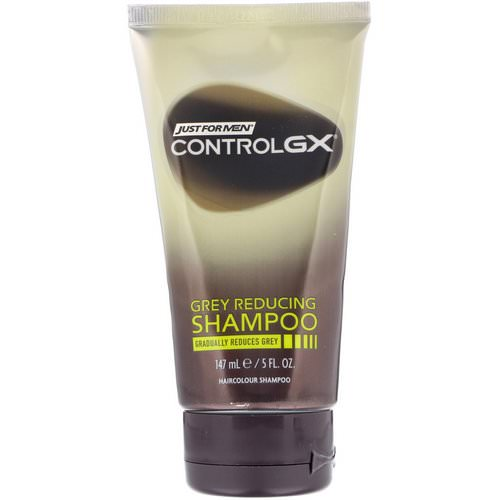 Just for Men, Control GX, Grey Reducing Shampoo, 5 fl oz (147 ml) Review