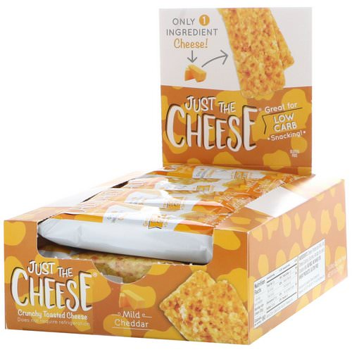 Just The Cheese, Mild Cheddar Bars, 12 Bars, 0.8 oz (22 g) Review