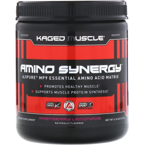 Kaged Muscle, Amino Synergy, Raspberry Lemonade, 6.74 oz (191 g) Review