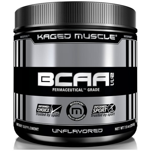 Kaged Muscle, BCAA 2:1:1, Unflavored, 6.4 oz (200 g) Review