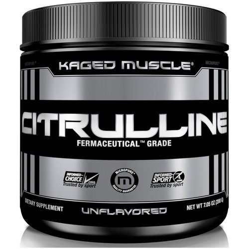 Kaged Muscle, Citrulline, Unflavored, 7 oz (200 g) Review
