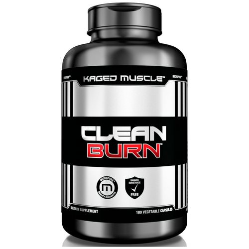 Kaged Muscle, Clean Burn, 180 Veggie Caps Review