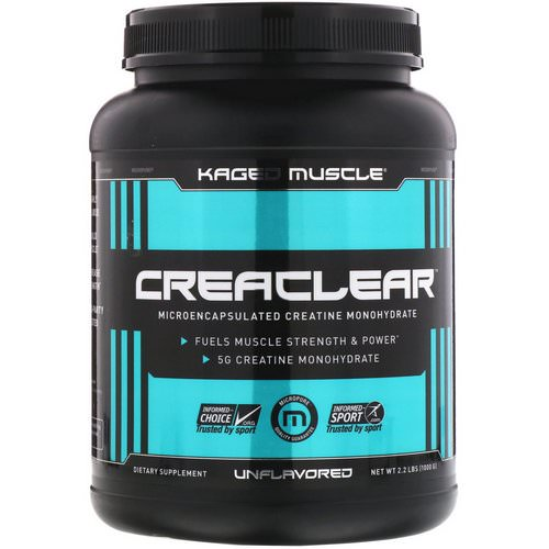 Kaged Muscle, Creaclear, Unflavored, 2.2 lb (1000 g) Review