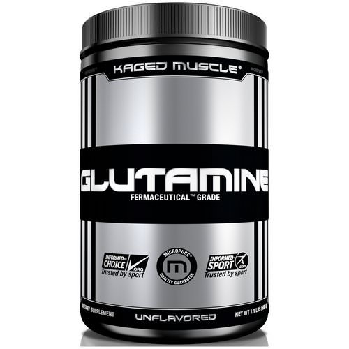 Kaged Muscle, Glutamine, Unflavored, 9.6 oz (300 g) Review