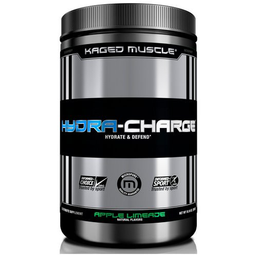 Kaged Muscle, Hydra-Charge, Apple Limeade, 10.16 oz (288 g) Review
