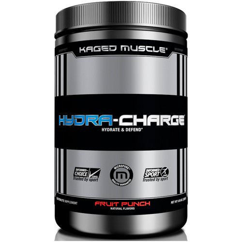 Kaged Muscle, Hydra-Charge, Fruit Punch, 9.95 oz (282 g) Review
