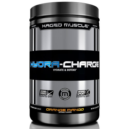 Kaged Muscle, Hydra Charge, Orange Mango, 9.73 oz (276 g) Review