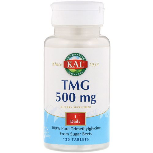KAL, TMG, 500 mg, 120 Tablets Review