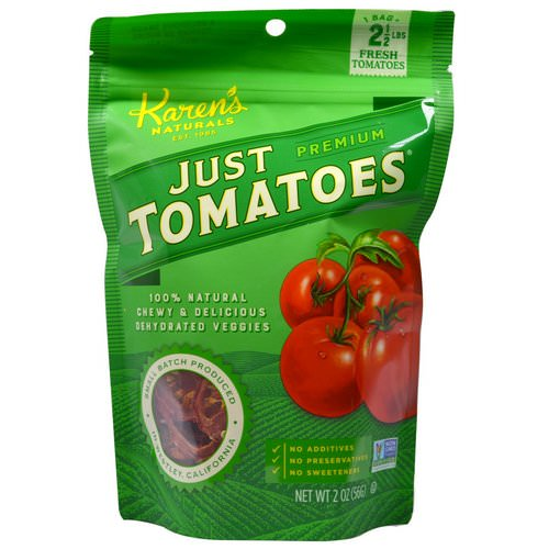 Karen's Naturals, Just Tomatoes, Premium, 2 oz (56 g) Review