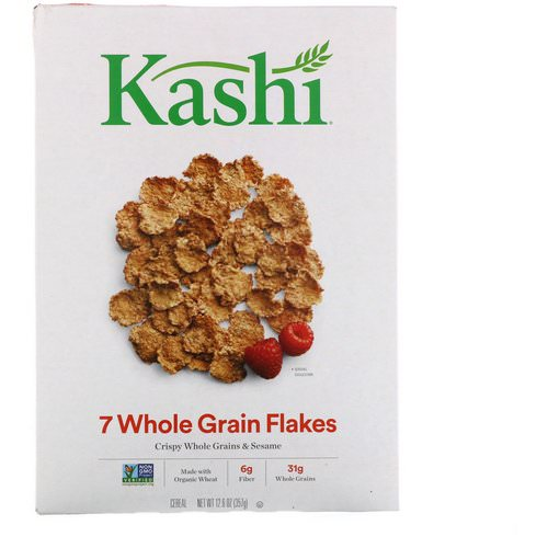 Kashi, 7 Whole Grain Flakes Cereal, 12.6 oz (357 g) Review