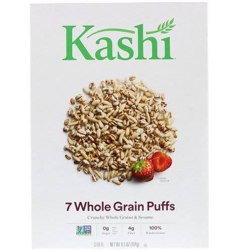 Kashi, 7 Whole Grain Puffs, 6.5 oz (184 g) Review