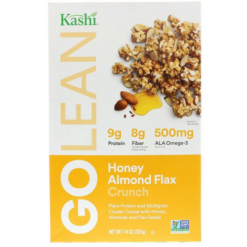 Kashi, GoLean Crunch! Honey Almond Flax Cereal, 14 oz (397 g) Review