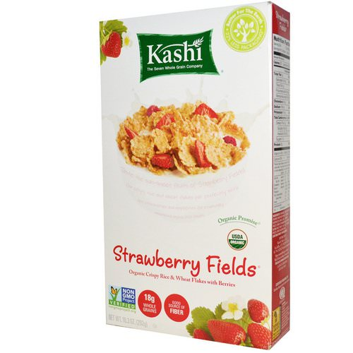 Kashi, Strawberry Fields Cereal, 10.3 oz (292 g) Review