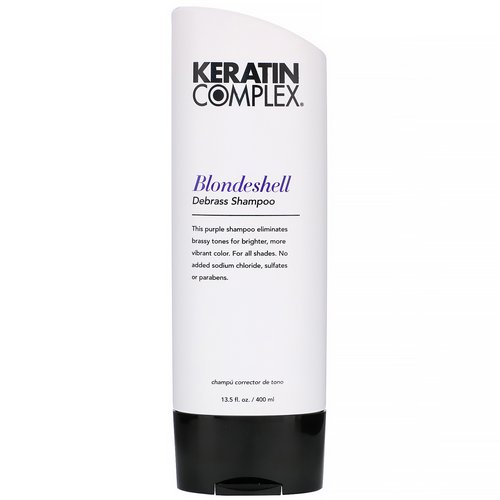 Keratin Complex, Blondeshell Debrass Shampoo, 13.5 fl oz (400 ml) Review