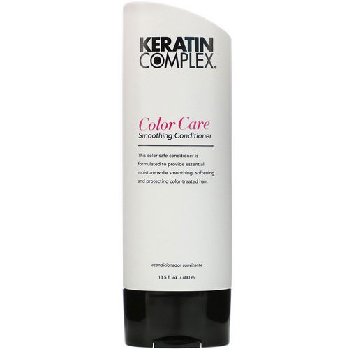 Keratin Complex, Color Care Smoothing Conditioner, 13.5 fl oz (400 ml) Review