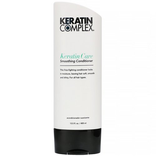 Keratin Complex, Keratin Care Smoothing Conditioner, 13.5 fl oz (400 ml) Review