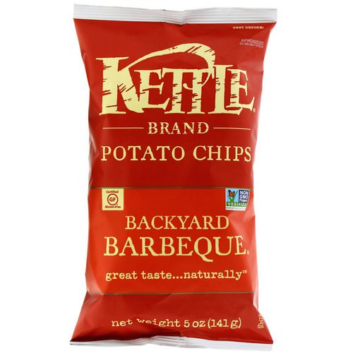 Kettle Foods, Potato Chips, Backyard Barbeque, 5 oz (141 g) Review