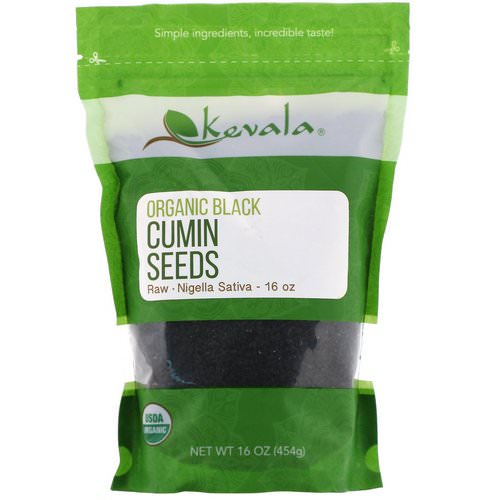 Kevala, Organic Black Cumin Seeds, Raw, 16 oz (454 g) Review