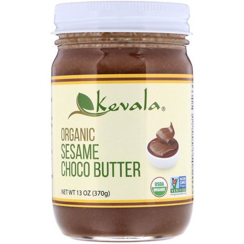 Kevala, Organic Sesame Choco Butter, 13 oz (370 g) Review