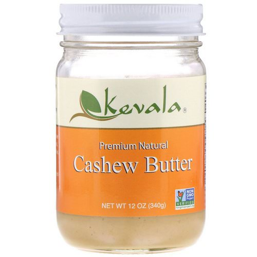 Kevala, Premium Natural Cashew Butter, 12 oz (340 g) Review