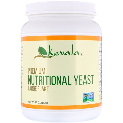 Kevala, Premium Nutritional Yeast, Large Flake, 14 oz (392 g) Review
