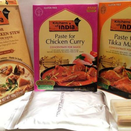 Kitchens of India, Curry Paste, Sauce