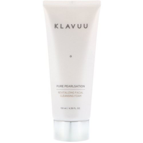 KLAVUU, Pure Pearlsation, Revitalizing Facial Cleansing Foam, 4.39 fl oz (130 ml) Review