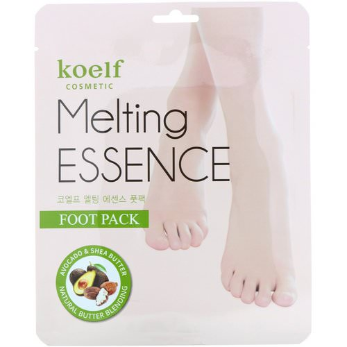 Koelf, Melting Essence Foot Pack, 10 Pairs Review