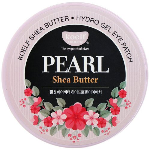 Koelf, Pearl Shea Butter, Hydro Gel Eye Patch, 60 Patches Review