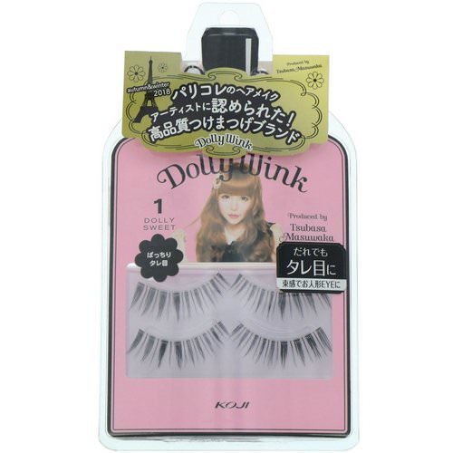 Koji, Dolly Wink, False Eyelashes, #1 Dolly Sweet, 2 Pairs Review