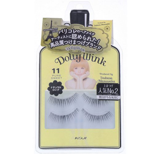 Koji, Dolly Wink, False Eyelashes, #11 Pure Sweet, 2 Pairs Review