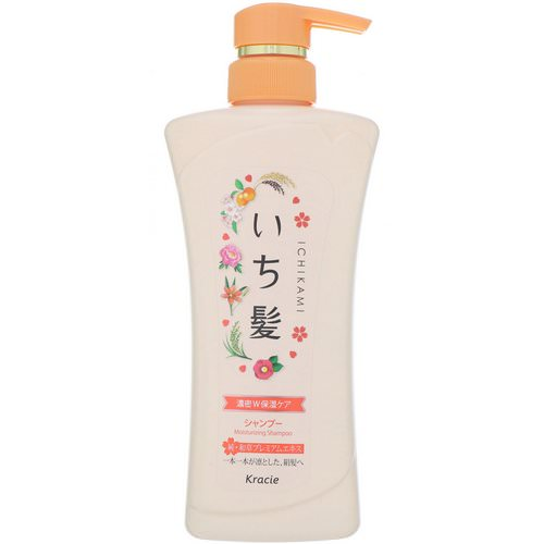 Kracie, Ichikami, Moisturizing Shampoo, 16.2 fl oz (480 ml) Review