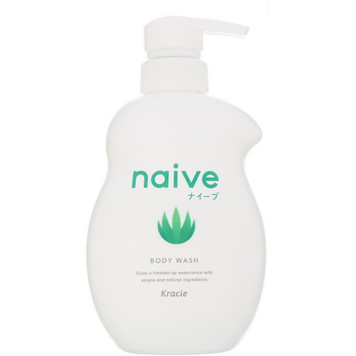 Kracie, Naive, Body Wash, Aloe, 17.9 fl oz (530 ml) Review