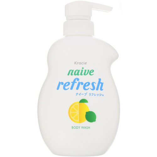 Kracie, Naive, Body Wash, Refresh, 17.9 fl oz (530 ml) Review