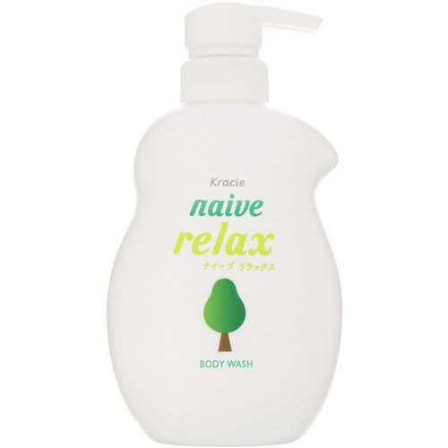 Kracie, Naive, Body Wash, Relax, 17.9 fl oz (530 ml) Review