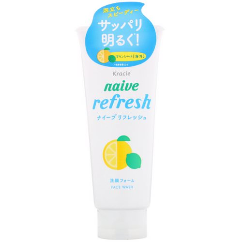 Kracie, Naive, Face Wash, Refresh, 4.5 oz (130 g) Review