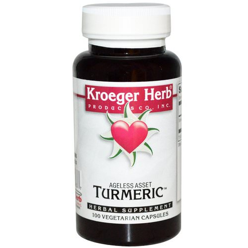 Kroeger Herb Co, Turmeric, 100 Veggie Caps Review