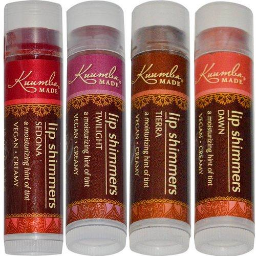 Kuumba Made, Lip Shimmers, 4 Pack, .15 oz (4.25 g) Each Review
