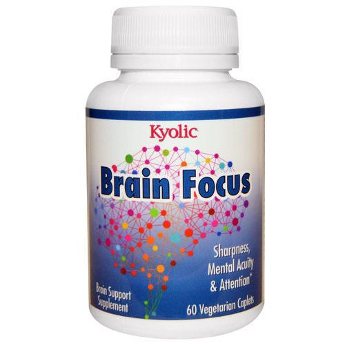 Kyolic, Brain Focus, 60 Veggie Caplets Review