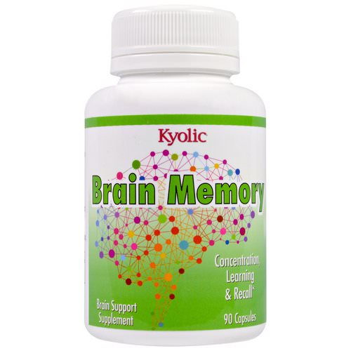 Kyolic, Brain Memory, 90 Capsules Review