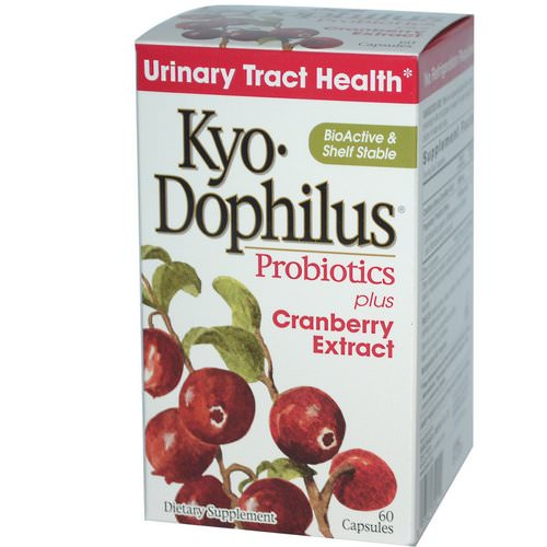 Kyolic, Kyo-Dophilus, Probiotics, Plus Cranberry Extract, 60 Capsules Review