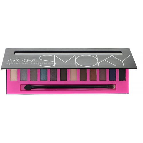 L.A. Girl, Beauty Brick, Smoky Eyeshadow Palette, 0.42 oz (12 g) Review