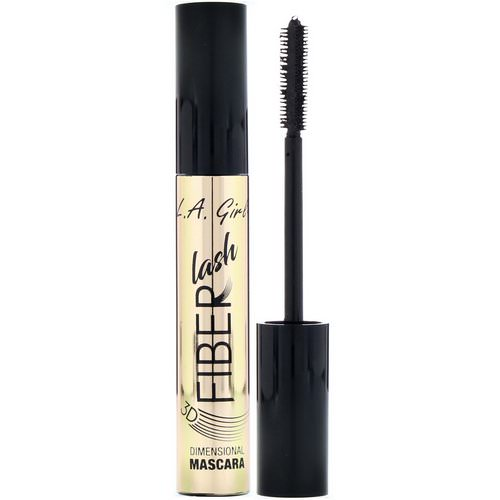 L.A. Girl, Fiber Lash Mascara, Intense Black, 0.27 fl oz (8 ml) Review