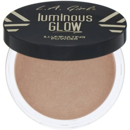 L.A. Girl, Luminous Glow, Illuminating Powder, Sunkissed, 0.18 oz (5 g) Review
