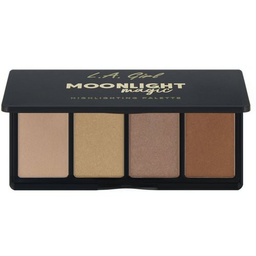 L.A. Girl, Moonlight Magic Highlighting Palette, 0.14 oz (4 g) Each Review