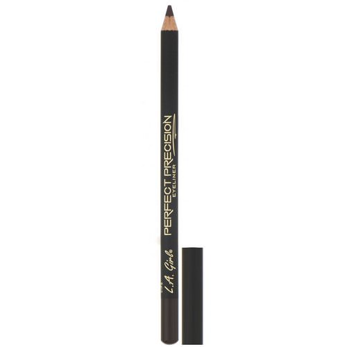 L.A. Girl, Perfect Precision Eyeliner, Dark Brown, 0.05 oz (1.49 g) Review