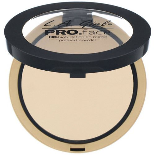 L.A. Girl, Pro Face HD Matte Pressed Powder, Classic Ivory, 0.25 oz (7 g) Review
